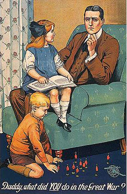 Poster / Daddy , what did you do in the Great War LIFTED FROM ZZs