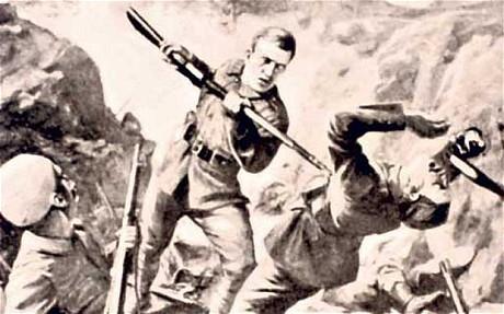 Lt. Albert Jacka, V.C.